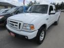 Used 2011 Ford Ranger GREAT VALUE FX4 MODEL 4 PASSENGER 4.0L - V6.. 4X4.. EXT-CAB.. SHORTY.. CD/AUX INPUT.. KEYLESS ENTRY.. TOW SUPPORT.. for sale in Bradford, ON