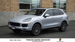 Used 2017 Porsche Cayenne Platinum Edition |PORSCHE CERTIFIED for sale in Vancouver, BC