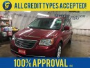 Used 2014 Chrysler Town & Country TOURING*GARMIN NAVIGATION*BACK UP CAMERA*POWER SUNROOF*DUAL REAR DVD PLAYER*U CONNECT PHONE*KEYLESS ENTRY w/REMOTE SLIDING DOORS/LIFT GATE* for sale in Cambridge, ON