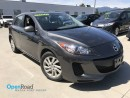 Used 2012 Mazda MAZDA3 GX M/T No Accident Local BradNew Tires Bluetooth AUX Cruise Control TCS ABS for sale in Port Moody, BC