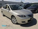 Used 2008 Mazda MAZDA3 A/T Local Low Kms Leather Sunroof Curise Control A/C Heated Seats Power Lock Power Window ABS for sale in Port Moody, BC