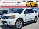 Used 2015 Nissan Armada Platinum Edition 4WD w/NAV,dual rear head rest DVD, 3rd row,all leather,rear cam,full pwr group,climate control,pwr sunroof for sale in Cambridge, ON