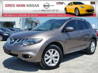 Used 2014 Nissan Murano SL AWD w/all leather,rear cam,climate control,heated seats for sale in Cambridge, ON