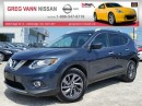 Used 2016 Nissan Rogue SL AWD w/all leather,NAV,panoramic roof,climate control,heated seats,rear cam for sale in Cambridge, ON