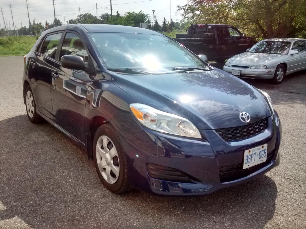 Photo of Blue 2010 Toyota Matrix