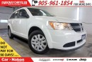 Used 2015 Dodge Journey CVP/SE| REAR CAM| DUAL CLIMATE| TOP SAFETY PICK| for sale in Mississauga, ON