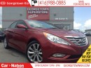 Used 2013 Hyundai Sonata SE|ONLY 26,211KMS | LEATHER | ROOF | HEATED SEATS for sale in Georgetown, ON