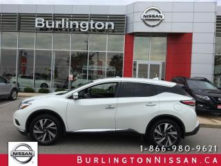 Used 2017 Nissan Murano - for sale in Burlington, ON