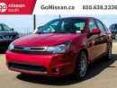 Used 2010 Ford Focus LEATHER, SUNROOF, AUTO!! for sale in Edmonton, AB