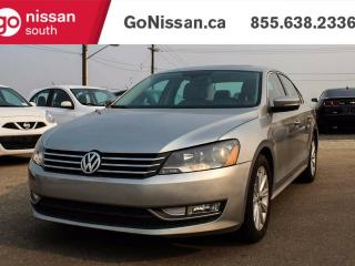 Used 2012 Volkswagen Passat LEATHER, SUNROOF, BACK UP CAMERA!! for sale in Edmonton, AB
