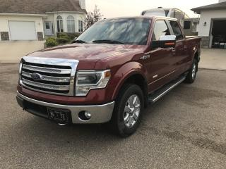 Used 2014 Ford F-150 LARIAT CREWCAB for sale in Stettler, AB