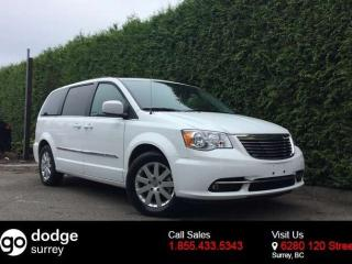Used 2016 Chrysler Town & Country Touring + POWER SLIDING DOORS/LIFTGATE + RADIO 430 + BACK-UP CAMERA for sale in Surrey, BC