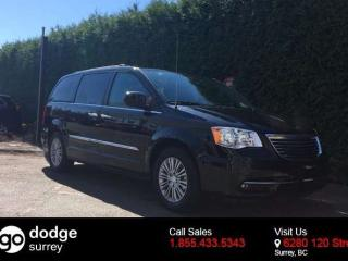 Used 2016 Chrysler Town & Country Touring-L + NAV + SUNROOF + DVD PLAYER + HEATED FT SEATS + BACK-UP CAM for sale in Surrey, BC