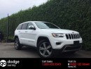 Used 2016 Jeep Grand Cherokee Limited + HEATED/VENT FT SEATS + HEATED 2ND ROW + SUNROOF + RR PARK ASSIST + BACK-UP CAMERA for sale in Surrey, BC