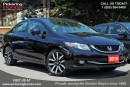 Used 2015 Honda Civic TOURING LEATHER SUNROOF NAVIGATION for sale in Pickering, ON