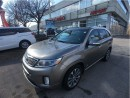 Used 2015 Kia Sorento SX, Pan.Roof, NAVI. Blind spot Detection for sale in Mississauga, ON