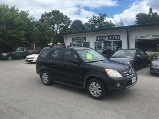Used 2006 Honda CR-V EX for sale in Waterdown, ON