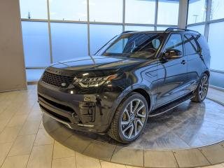 Used 2017 Land Rover Discovery HSE Luxury - Certified Pre-Owned Warranty until January 29, 2023 or 160,000 Kilometres, with Certified Rates from 2.9% for sale in Edmonton, AB