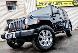 Used 2012 Jeep Wrangler Unlimited Sahara! 4X4! 4 Door! ONLY $255/bi-weekly for sale in St Catharines, ON
