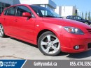Used 2005 Mazda MAZDA3 GT LEATHER SUNROOF 2 SETS OF TIRES for sale in Edmonton, AB
