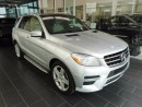 Used 2012 Mercedes-Benz ML-Class Accident Free, Alberta Vehicle, Well Equipped for sale in Edmonton, AB