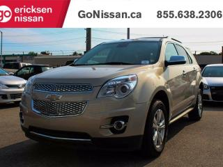 Used 2012 Chevrolet Equinox LTZ - LEATHER, BACK UP CAMERA, HEATED SEATS!! for sale in Edmonton, AB