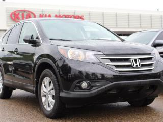Used 2013 Honda CR-V EX-L, SUNROOF, HEATED SEATS, BACKUP CAM, LEATHER. AUX / USB for sale in Edmonton, AB