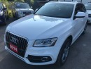 Used 2014 Audi Q5 2.0L S Line Technik NAVIGATION MOONROOF NO ACCIDEN for sale in Brampton, ON