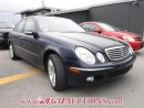 Used 2003 Mercedes-Benz E-CLASS E500W 4D SEDAN for sale in Calgary, AB