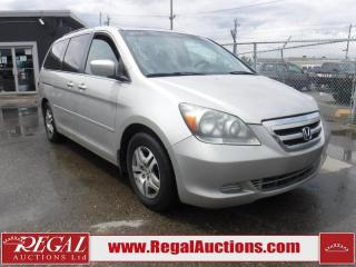 Used 2006 Honda Odyssey EX 4D Wagon 3.5L for sale in Calgary, AB