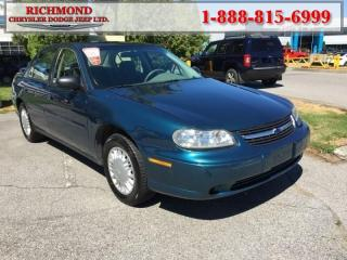 Used 2003 Chevrolet Malibu Base for sale in Richmond, BC