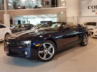 Used 2011 Chevrolet Camaro RS-CONVERTIBLE-LEATHER-ONLY 87KM for sale in York, ON