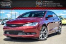 Used 2016 Chrysler 200 S|Navi|Duale Pane Sunroof|Backup Cam|Bluetooth|Pwr Seat|R-Start|19