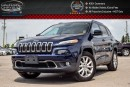 Used 2016 Jeep Cherokee Limited|4x4|Navi|Pano sunroof|Backup Cam|Bluetooth|Leather|R-Start|Keyless Entry|18