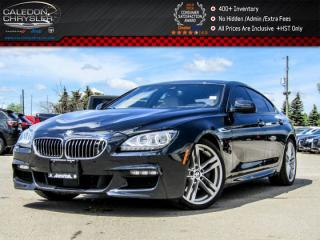 Used 2014 BMW 6 Series 650i xDrive|M PKG|Navi|Pano Sunroof|Bluetooth|Leather|Keyless Entry|19