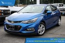 New 2017 Chevrolet Cruze LT Auto Satellite Radio, Heated Seats, and Backup Camera for sale in Port Coquitlam, BC
