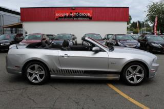 Used 2014 Ford Mustang 2dr Conv GT Premium for sale in Surrey, BC