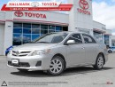 Used 2013 Toyota Corolla 4-door Sedan CE 4A for sale in Mono, ON