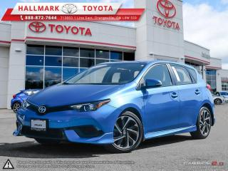 Used 2016 Scion iM CVT for sale in Orangeville, ON