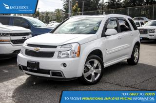 Used 2008 Chevrolet Equinox Sport Sunroof and Air Conditioning for sale in Port Coquitlam, BC
