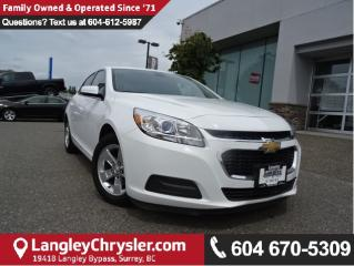 Used 2016 Chevrolet Malibu Limited LT *ACCIDENT FREE*ONE OWNER*LOCAL BC CAR* for sale in Surrey, BC