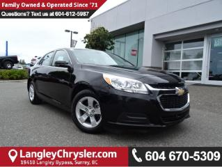 Used 2016 Chevrolet Malibu Limited LT *ACCIDENT FREE * DEALER INSPECTED * CERTIFIED * for sale in Surrey, BC