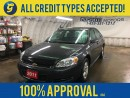Used 2011 Chevrolet Impala LS*KEYLESS ENTRY*POWER WINDOWS/LOCKS/MIRRORS*CLIMATE CONTROL*AM/FM/CD/AUX*CRUISE CONTROL*ON STAR*POWER DRIVER SEAT*HOOD DEFLECTOR* for sale in Cambridge, ON
