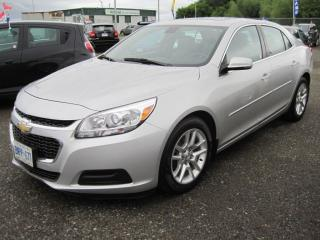Used 2015 Chevrolet Malibu LT for sale in Thunder Bay, ON