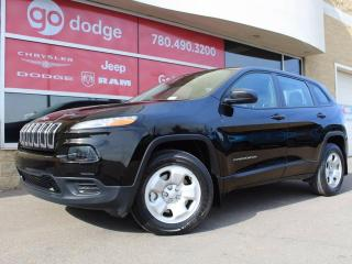 Used 2017 Jeep Cherokee Sport for sale in Edmonton, AB