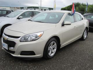 Used 2015 Chevrolet Malibu LS for sale in Thunder Bay, ON