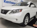 Used 2012 Lexus RX 350 RX 350 with sunroof, heated/cooled front seats, power liftgate and push start for sale in Edmonton, AB