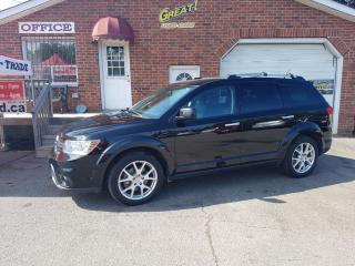 Used 2014 Dodge Journey R/T AWD 7 Pass DVD for sale in Bowmanville, ON
