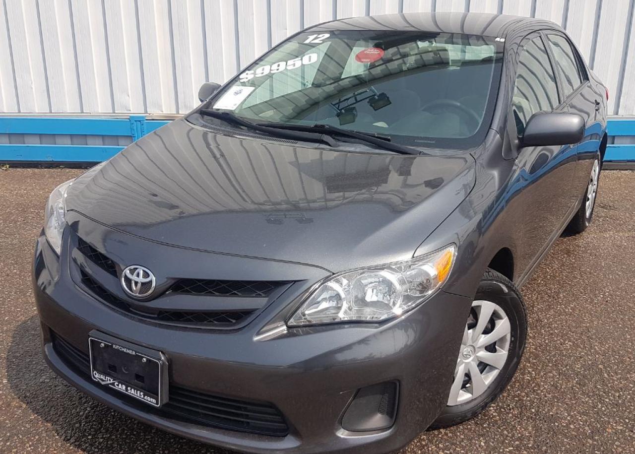 2012 Toyota Corolla CE *AUTOMATIC-HEATED SEATS*