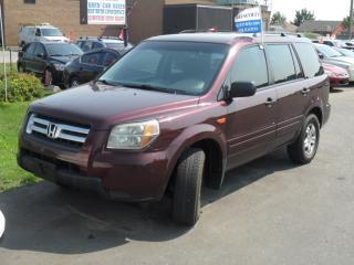 Used 2007 Honda Pilot for sale in Brampton, ON